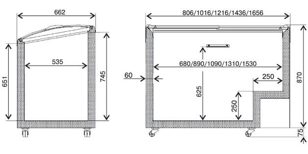 Схема витрина торговая